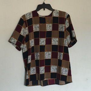 Vintage Pattern Top
